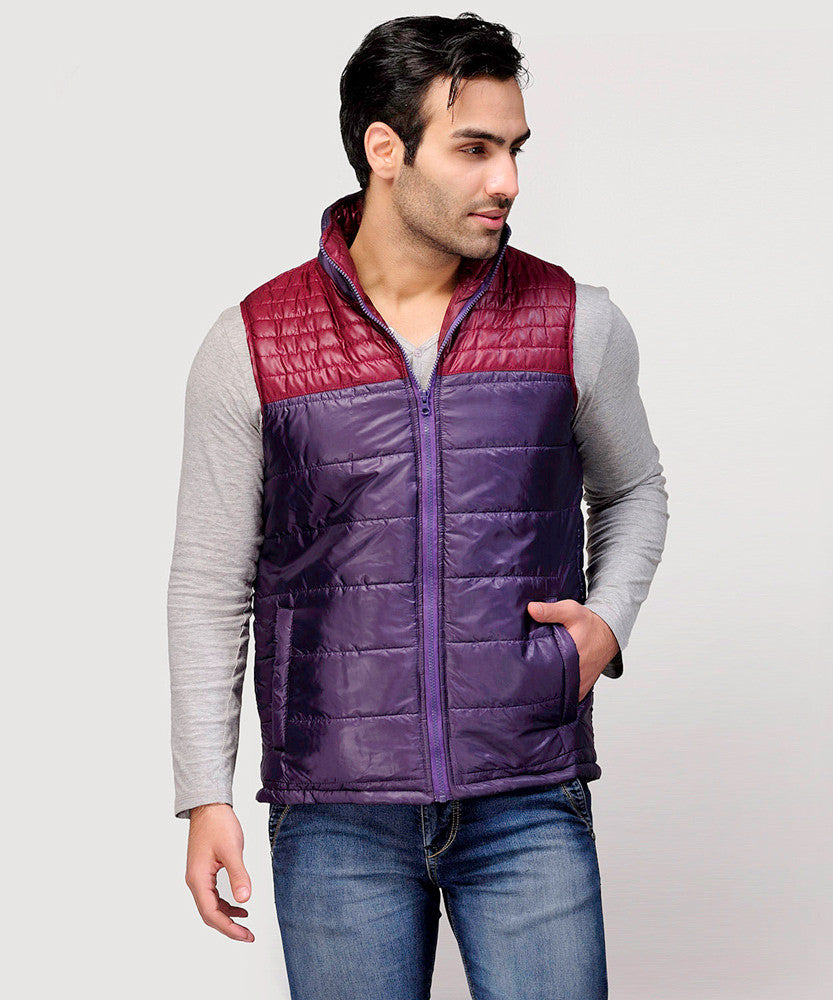 Yepme Erik Sleeveless Jacket - Purple