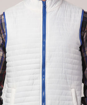 Yepme Altor Sleeveless Jacket - White
