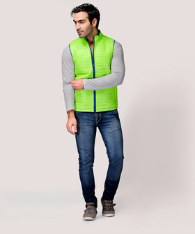 Yepme Altor Sleeveless Jacket - Green
