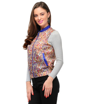 Yepme Veronica Sleeveless Jacket - Multicolor