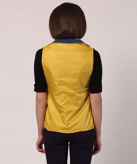 Yepme Diana Reversible Jacket - Yellow & Blue