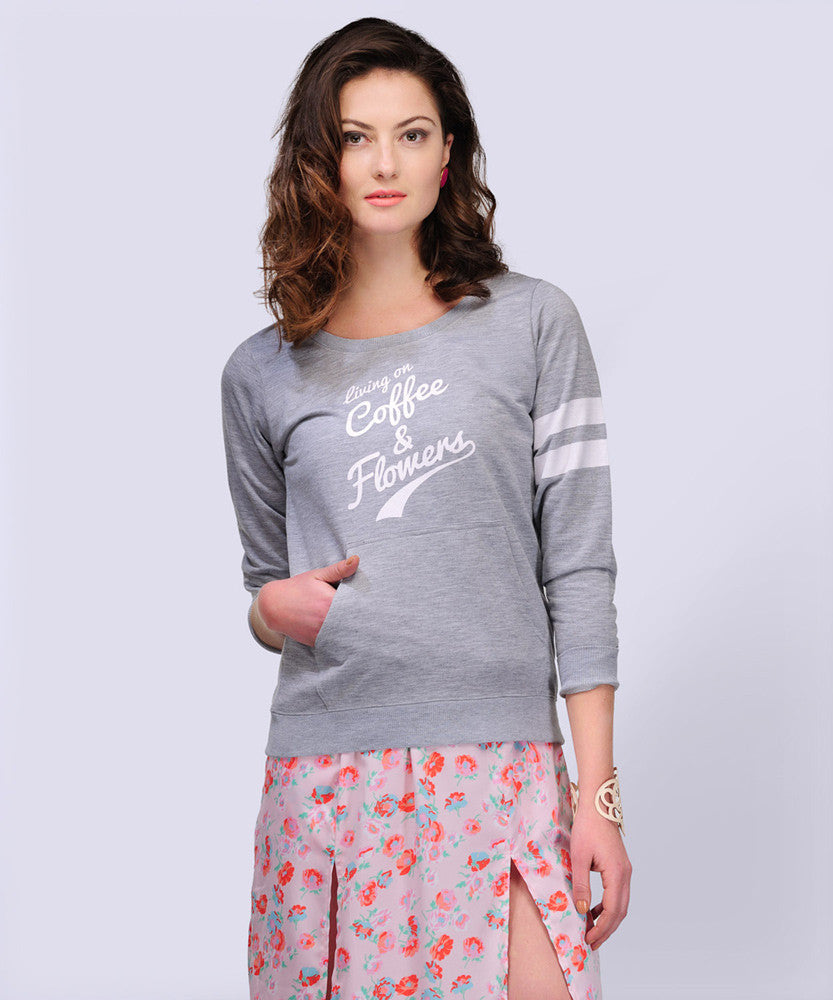 Yepme Jennifer Sweatshirt - Grey