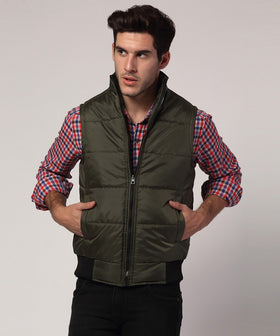 Yepme Jacob Bomber Jacket - Green