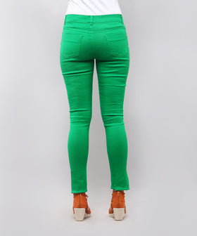 Yepme Amber Colored Pants - Green