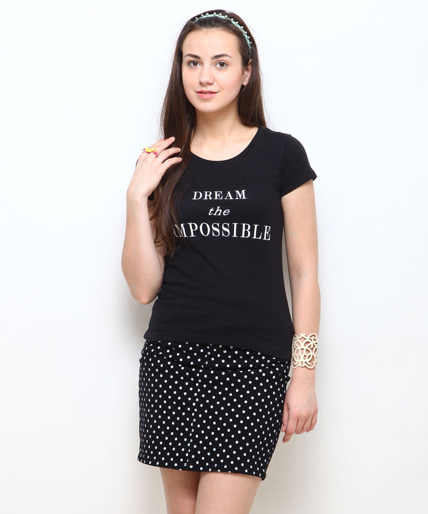 Yepme Impossible Tee - Black