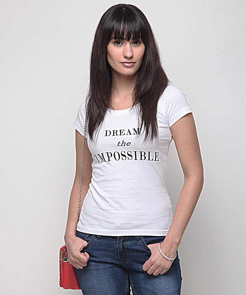 Yepme Impossible Tee - White