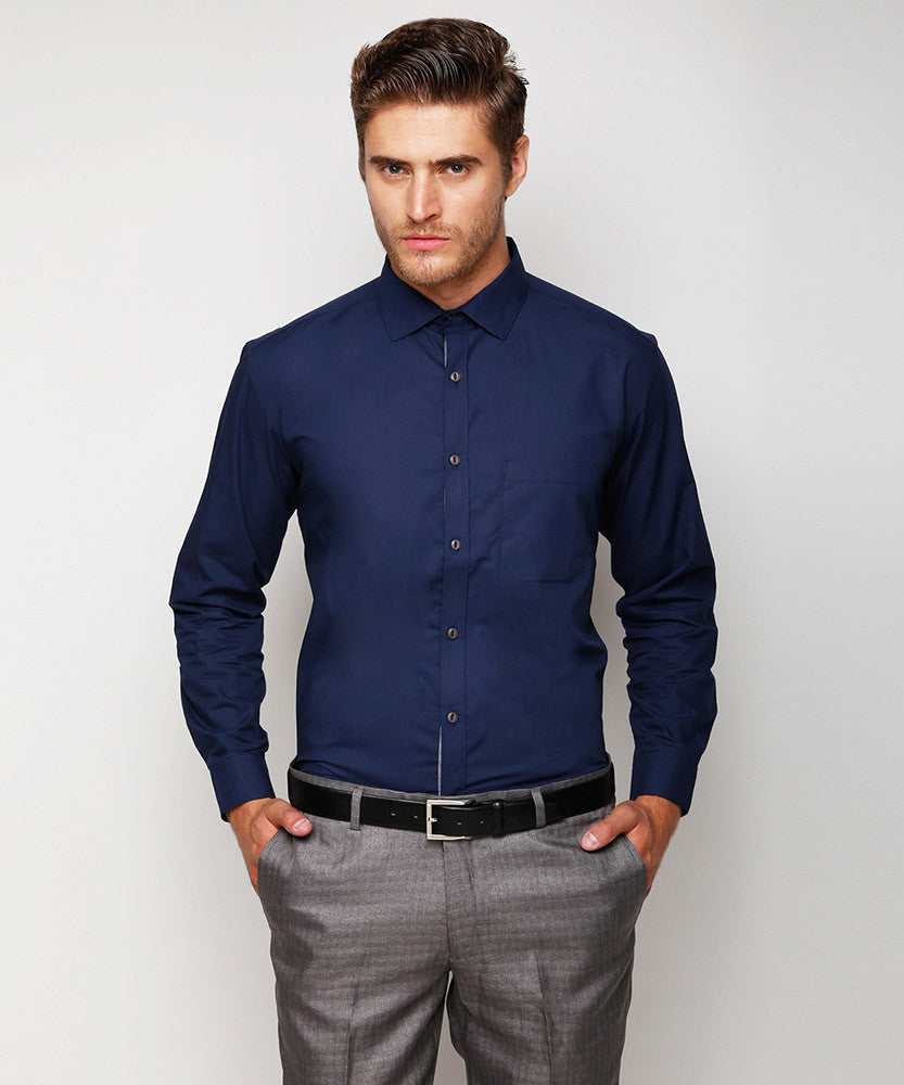 Yepme Convay Formal Shirt - Blue