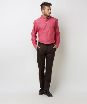 Yepme Warren Formal Trouser - Brown