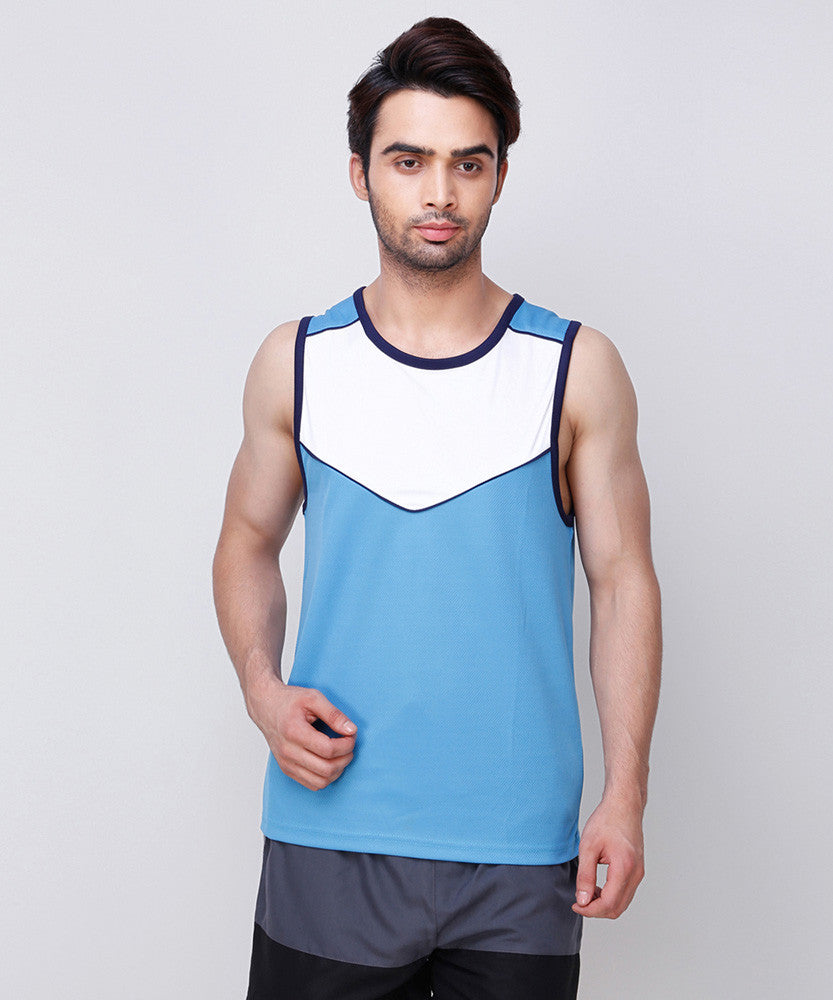 Yepme Boult Muscle Tee - Blue