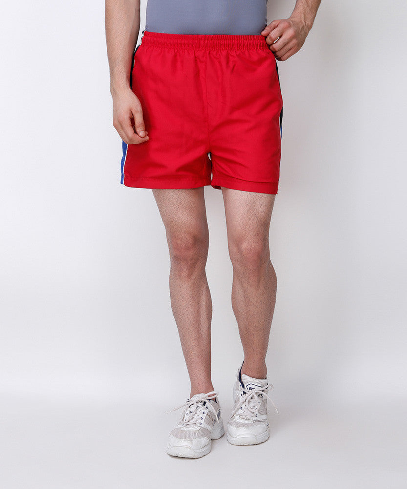 Yepme Zedd Sports Shorts - Red