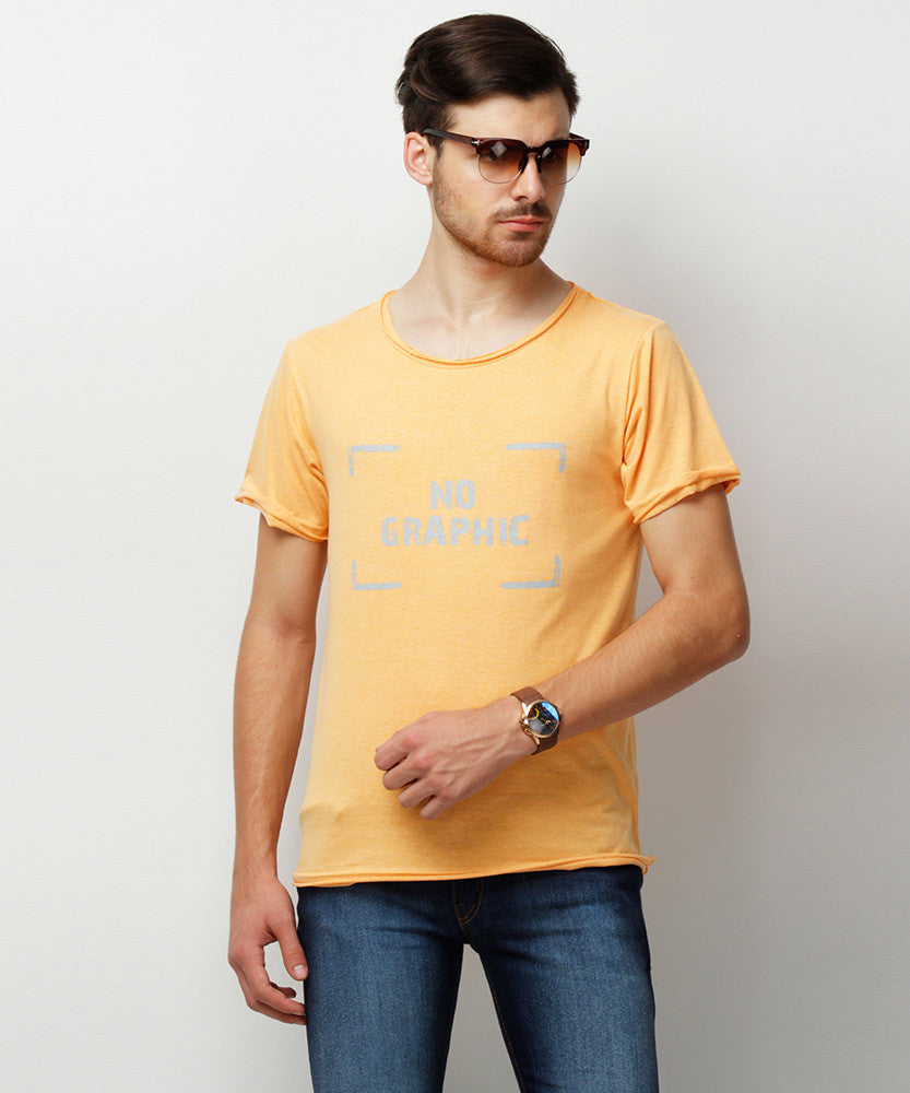 Yepme Janesen Premium Tee - Orange