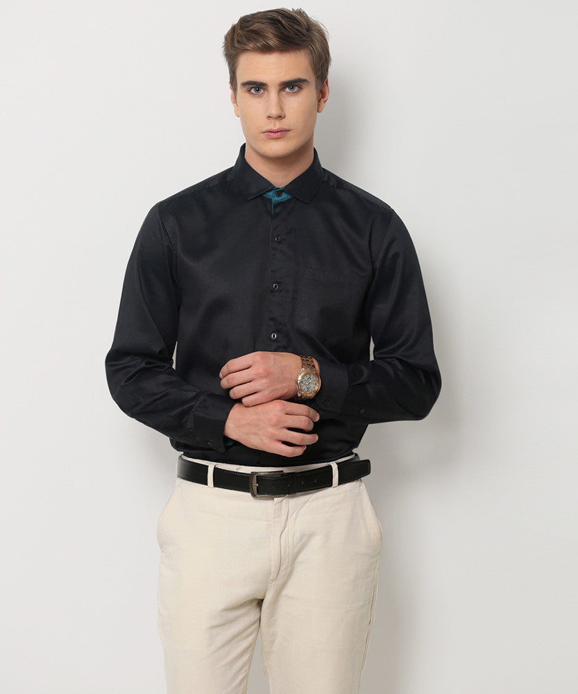 Yepme Roswell Premium Formal Shirt - Black