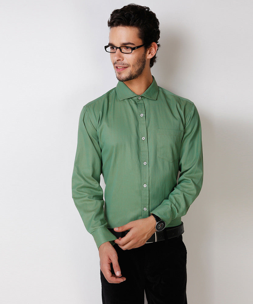 Yepme Rodrick Premium Formal Shirt - Green