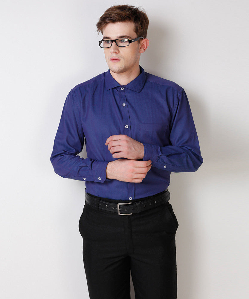 Yepme Rodrick Premium Formal Shirt - Blue