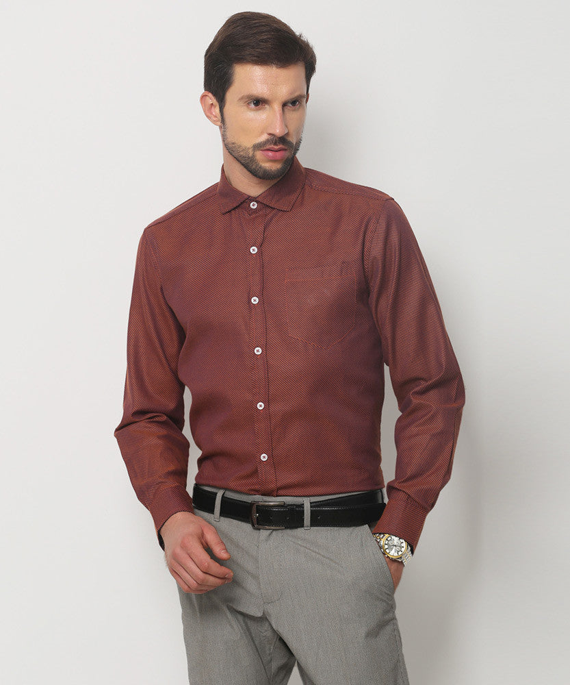 Yepme Hamlett Premium Formal Shirt - Orange