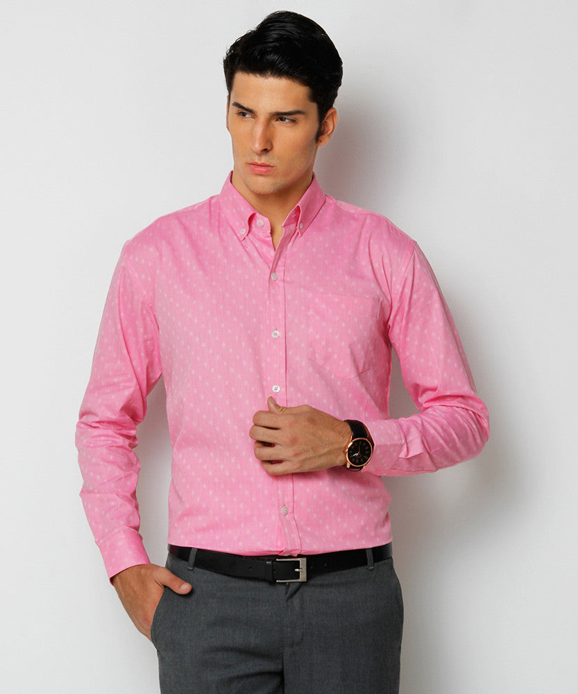 Yepme Freddo Premium Formal Shirt - Pink