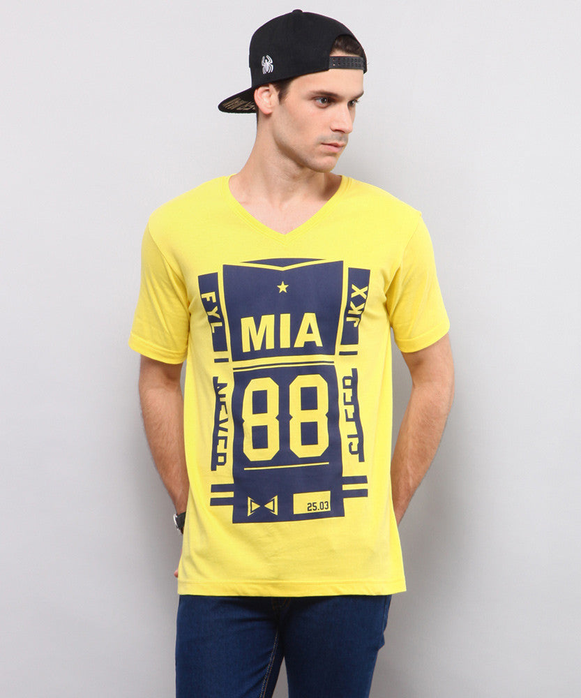 Yepme Mia 88 Tee - Yellow