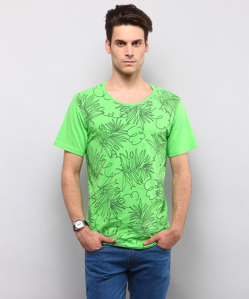 Yepme Tropical Tee - Green