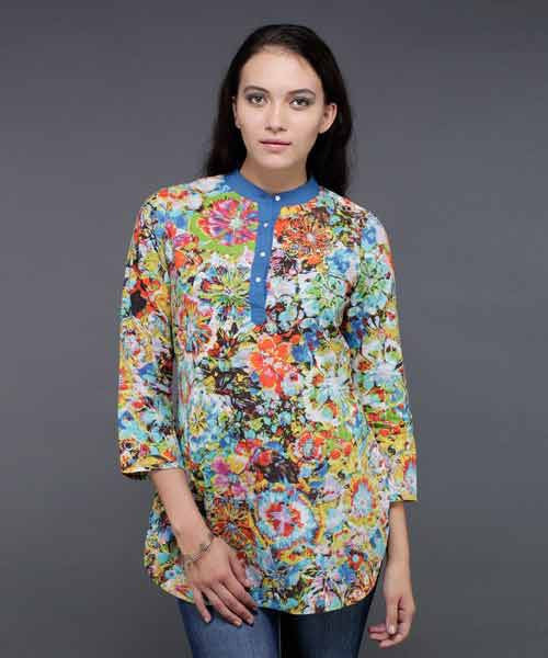 Yepme Evette Floral Print Tunic