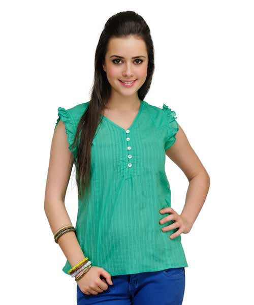 Yepme Britta Bright Green Top