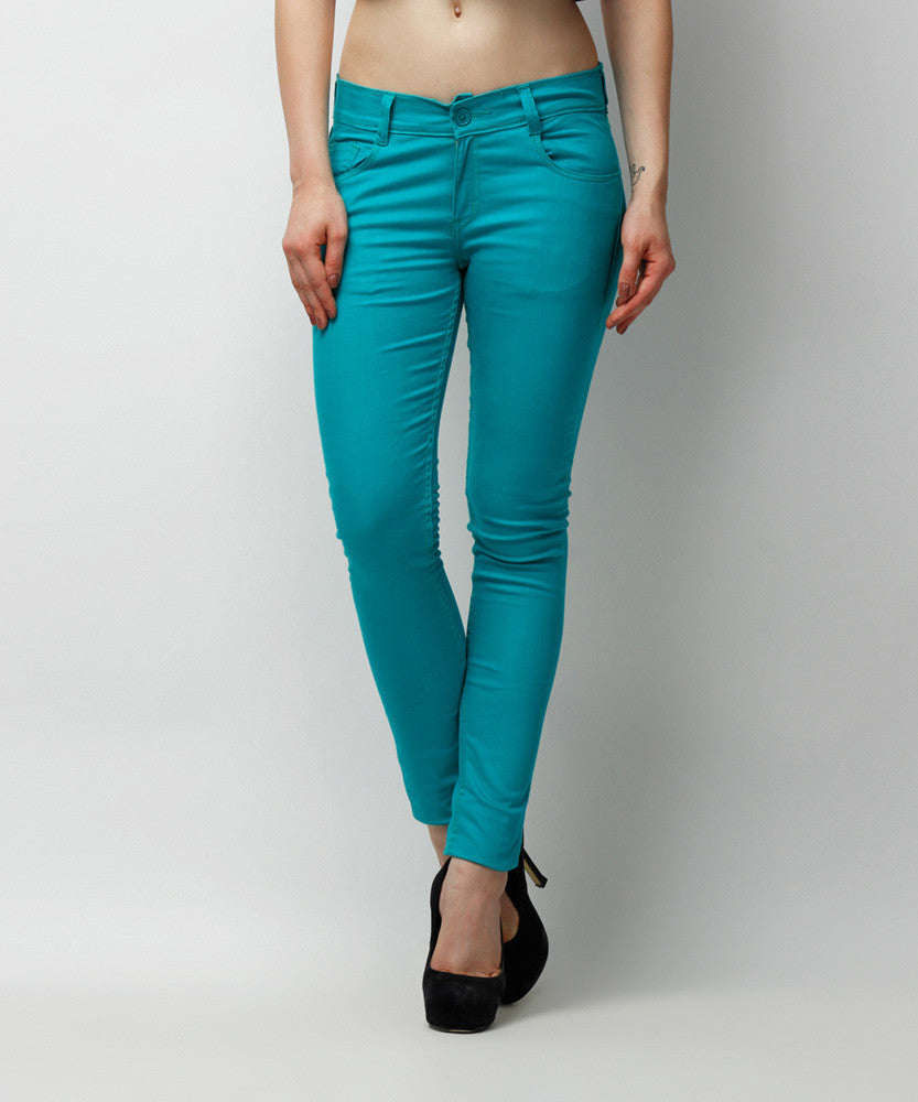Yepme Clara Colored Pants - Green
