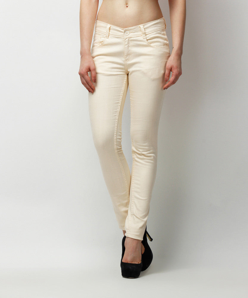 Yepme Clara Colored Pants - Off White