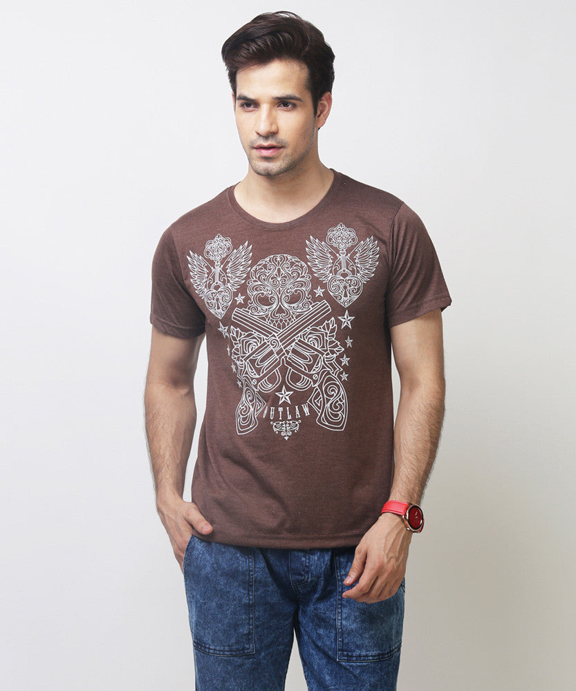 Yepme Outlaw Tee - Brown