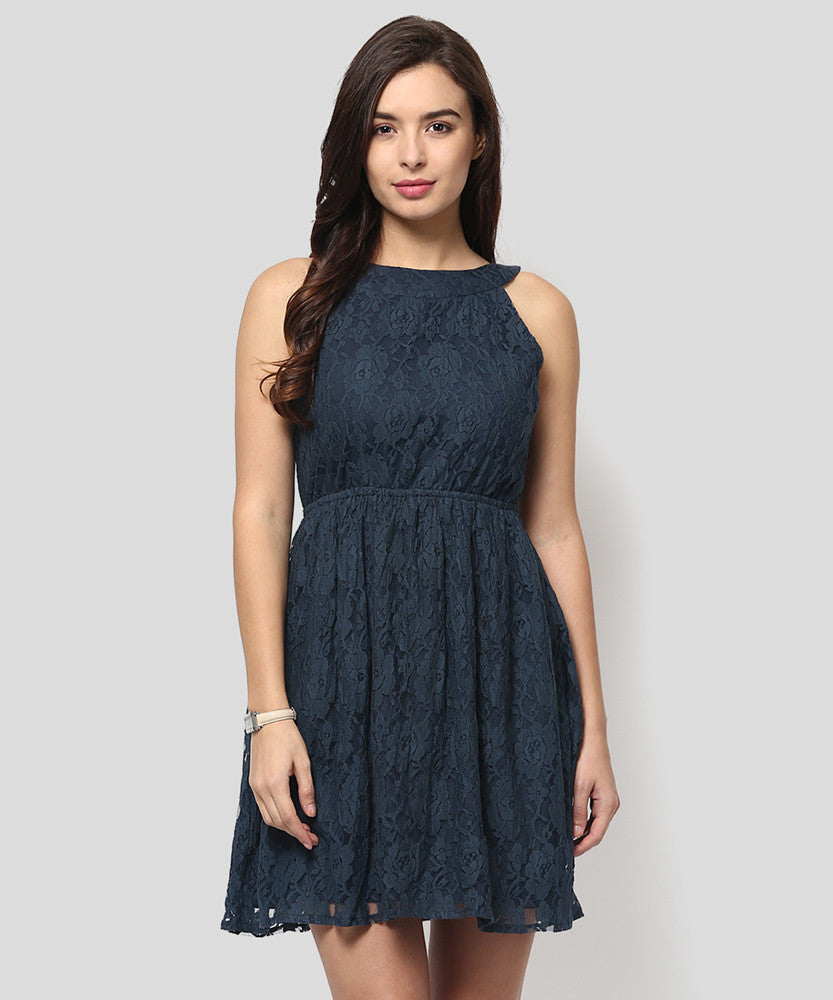 Yepme Fiona Lace Dress - Blue