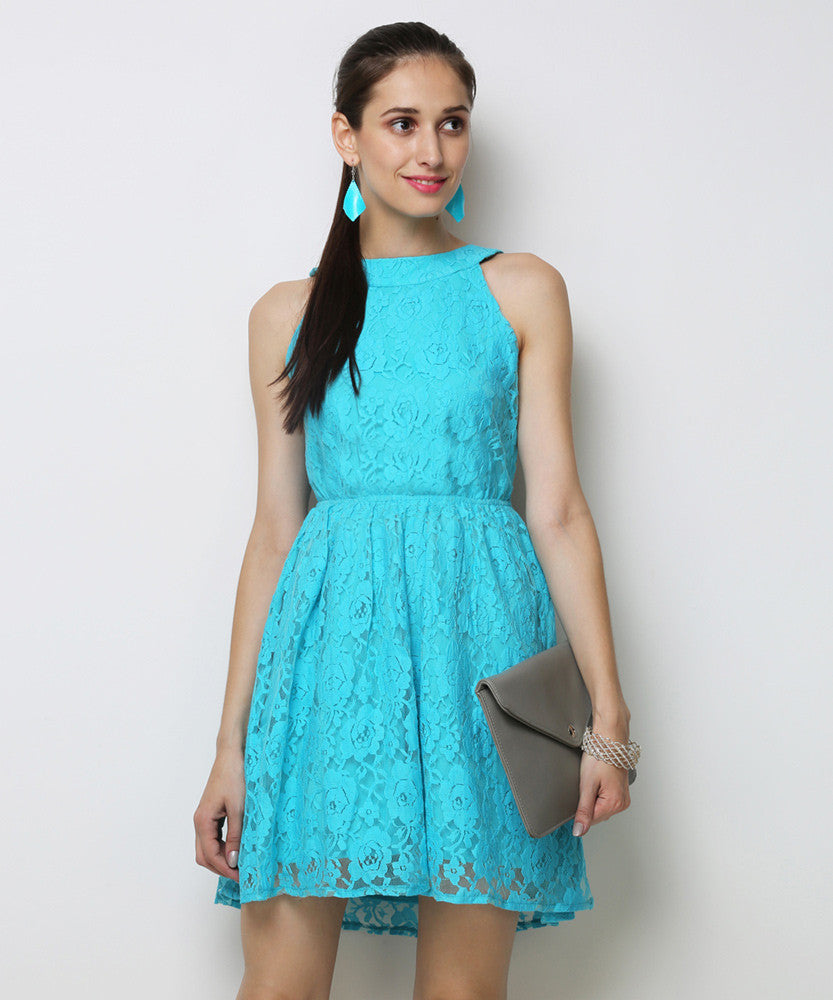 Yepme Eliza Lace Dress - Blue