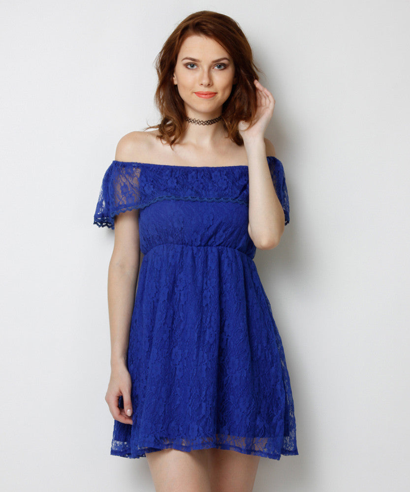 Yepme June Lace Dress - Blue