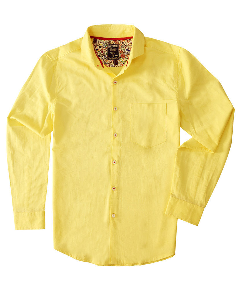 Yepme Erin Premium Shirt - Yellow