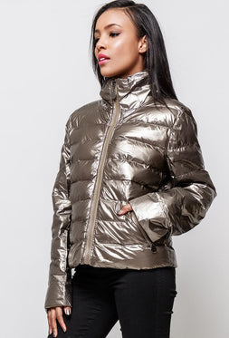Shiny Puffer Jacket