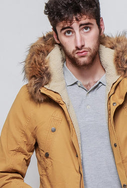Cotton Parka Jacket