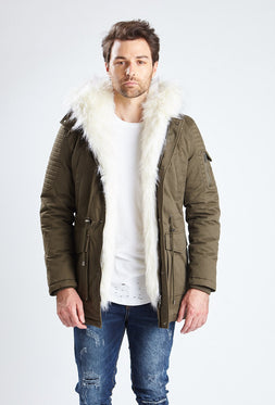 Shearling Parka Jacket