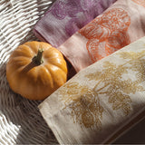 Linen Hand Towel Vegetables Collection with a pumpkin