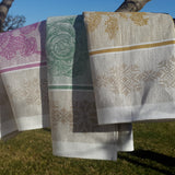 Linen Hand Towels Vegetables Collection