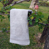 Linen Kitchen Hand Towel Flowers