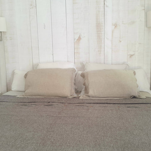 Stonewashed Linen Pillow Case Edelino