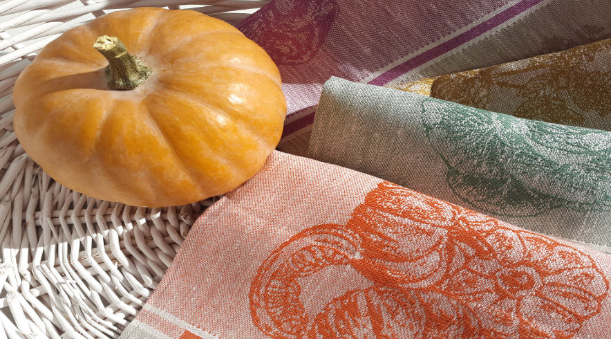 Linen Hand Towels from Vegetables Collection