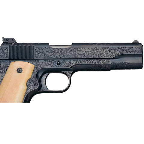 Colt Factory Engraved 38 Super Match