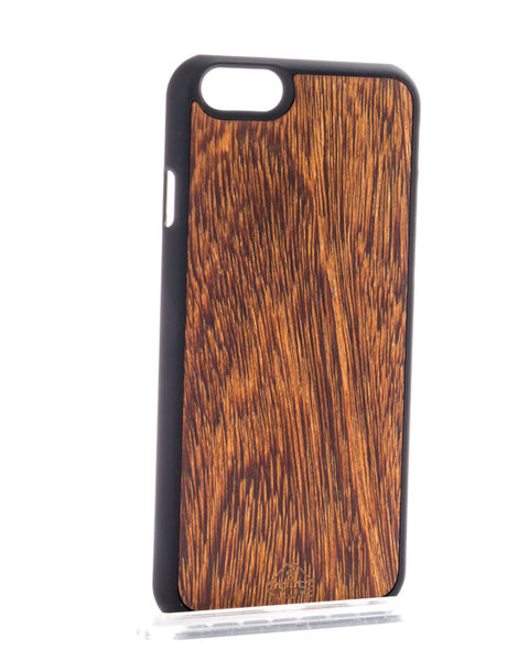 Wood Sucupira iPhone Case