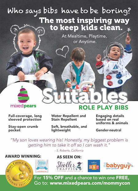 Suitables Role Play Bibs MommyCon Flyer