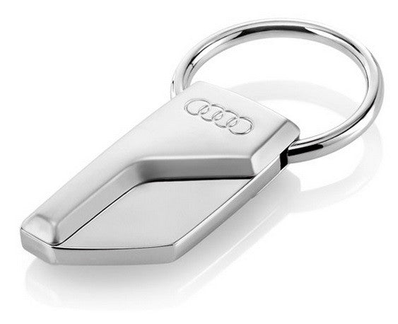 audi metal key ring park avenue audi. Black Bedroom Furniture Sets. Home Design Ideas