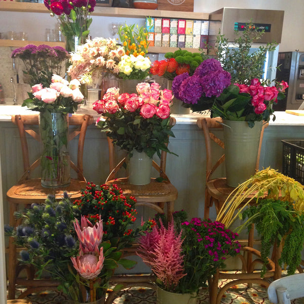 Intermediate bouquet/vase workshop + wholesaler visit