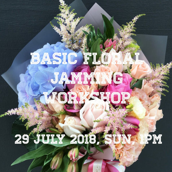 Basic bouquet/vase workshop