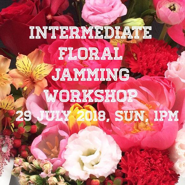 Intermediate bouquet/vase workshop