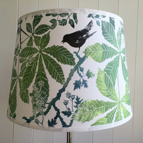 HORSE CHESTNUT PARCHMENT TABLE LAMPSHADE