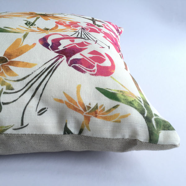 BRANTWOOD CUSHION - PURE LINEN