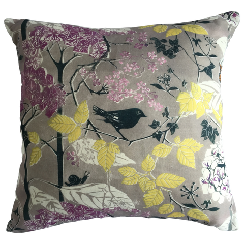 AUTUMN CUSHION - PURE LINEN