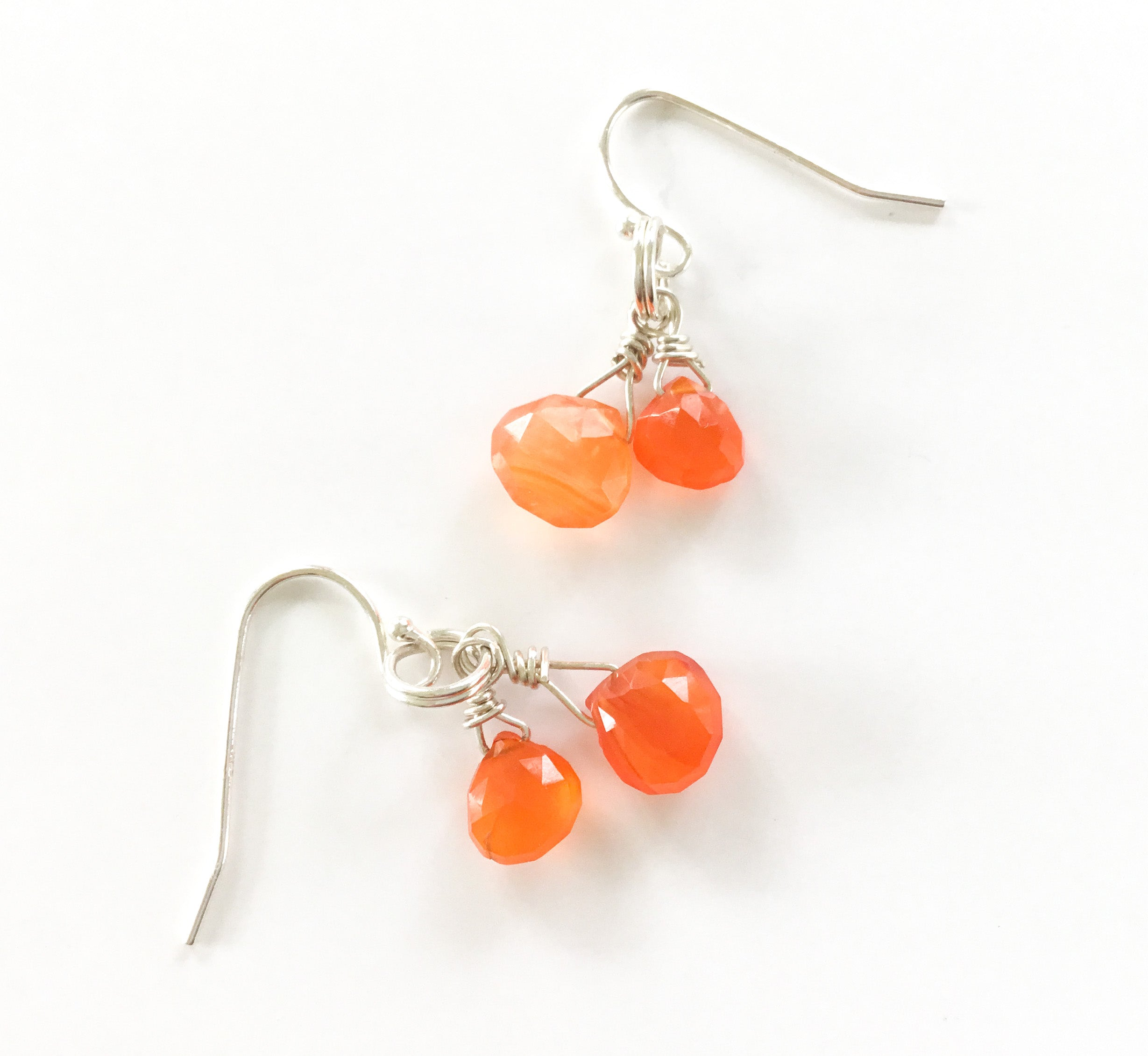 greek byzantine handmade unique sterling garnet art earrings style carnelian silver natural